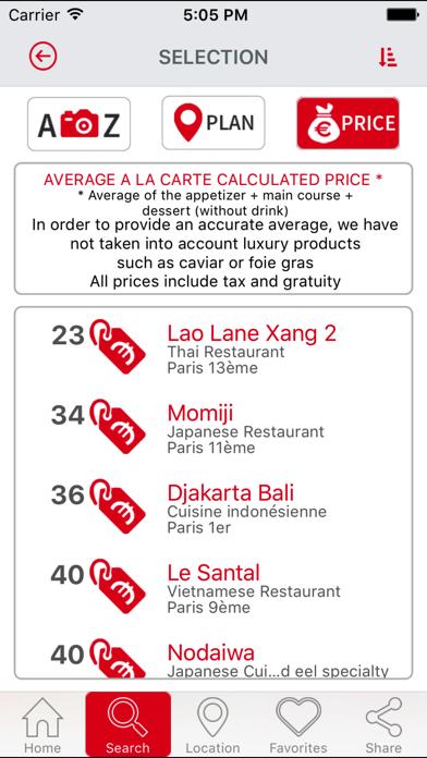 Best restaurants ParisScreenshot of 3