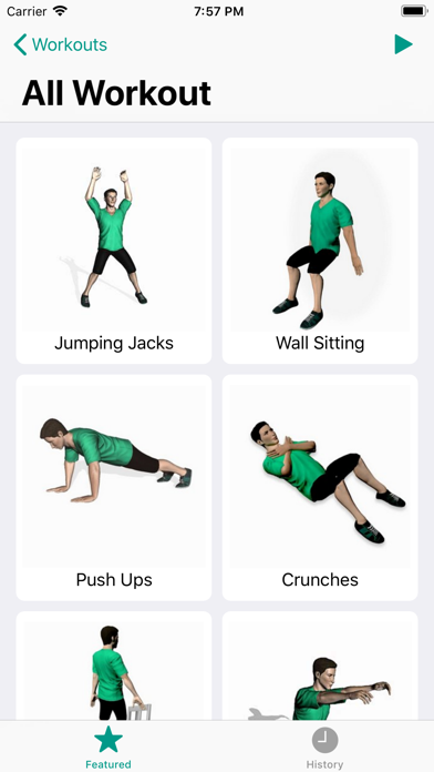 Weight loss workouts- 7 minute screenshot four