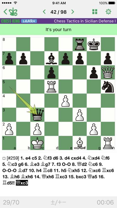 点击获取Chess Tactics. Sicilian Def. 1