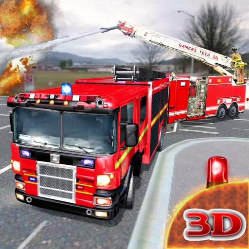 Fire Truck Driving Mission
