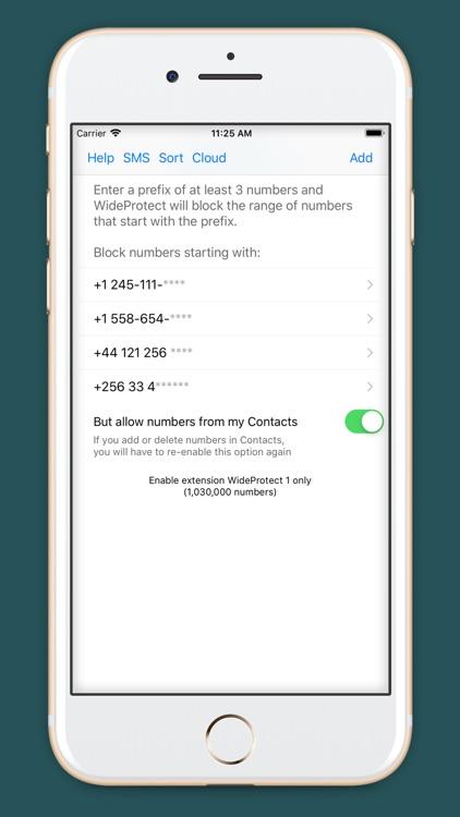 WideProtect Spam Call Blocker screenshot-0