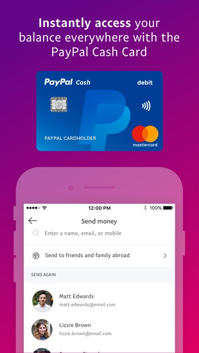 PayPal: Mobile Cash for Windows