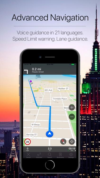 New York Offline Navigation screenshot-3