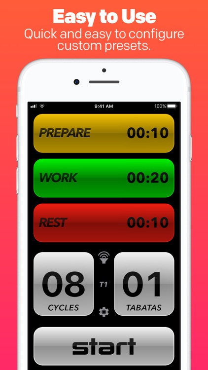 Tabata Pro HIIT Interval Timer screenshot-1