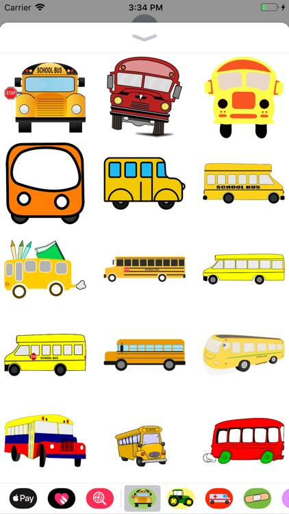 Bus Stickers screenshot-0