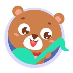 亲亲熊儿歌-睡前故事动画片