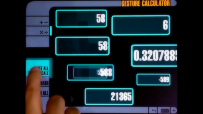 Gesture Calculator screenshot one