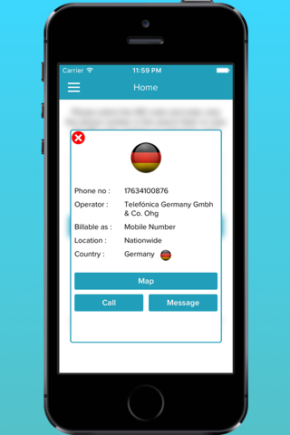 Mobile Number Details Tracker - náhled