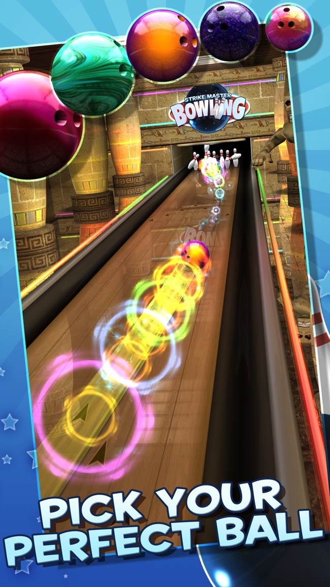 StrikeMaster Bowling Screenshot