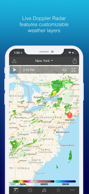 1Weather: Forecast and Radar on the App Store