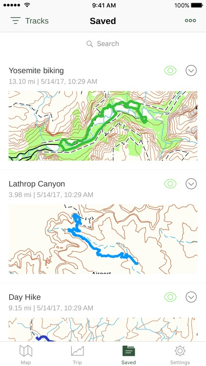 Gaia GPS: Hiking, Hunting Maps screenshot-3