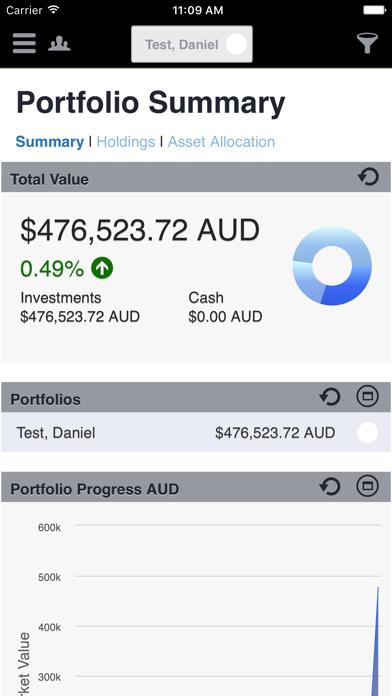 Equity&Super screenshot one