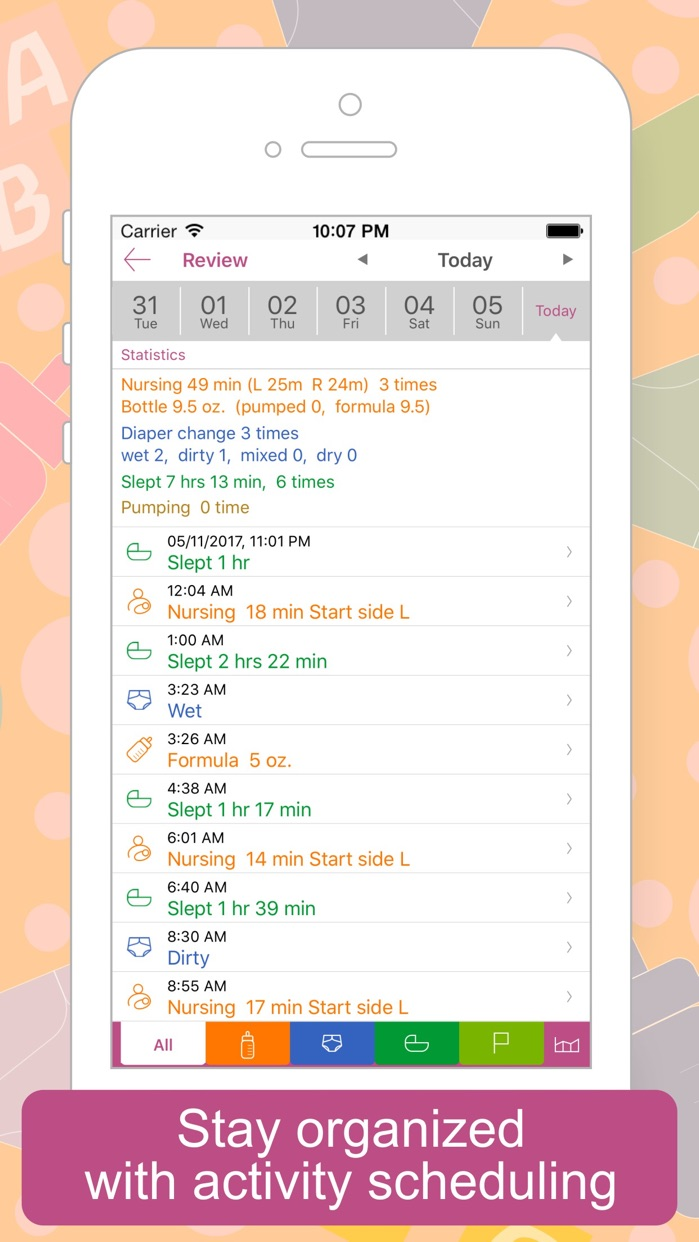 Baby Tracker - Newborn Log Screenshot