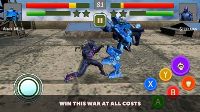 Superheroes vs Robots Fighting screenshot four
