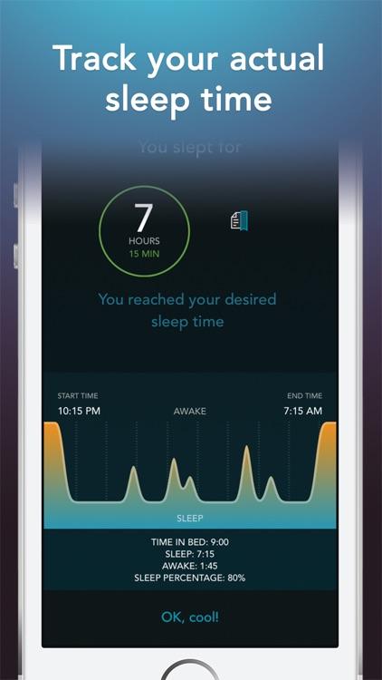 Sleep Science HQ: alarm clock screenshot-3