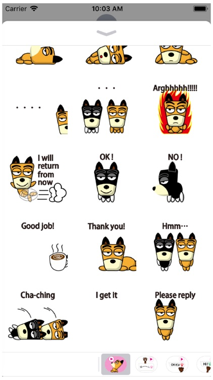 TF-Dog Animation 8 Stickers screenshot-4