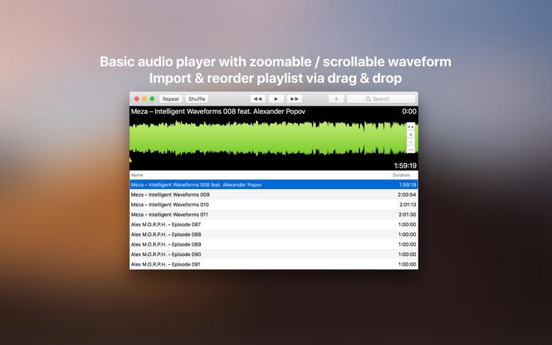 Visual Cue Lite Audio Player