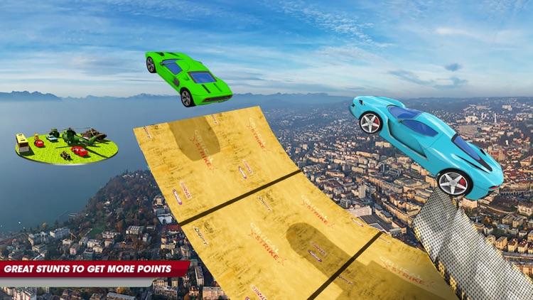 Car Stunts Vertical Mega Ramp screenshot-3