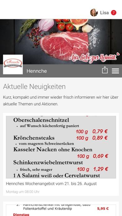 HenncheScreenshot von 1
