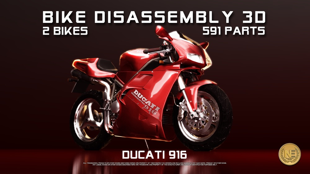 Bike Disassembly 3D Cheat Codes
