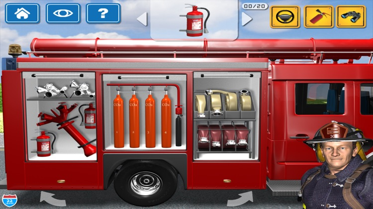 Kids Vehicles Fire Truck games