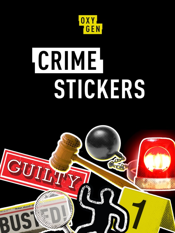 Oxygen Crime Stickers screenshot 6