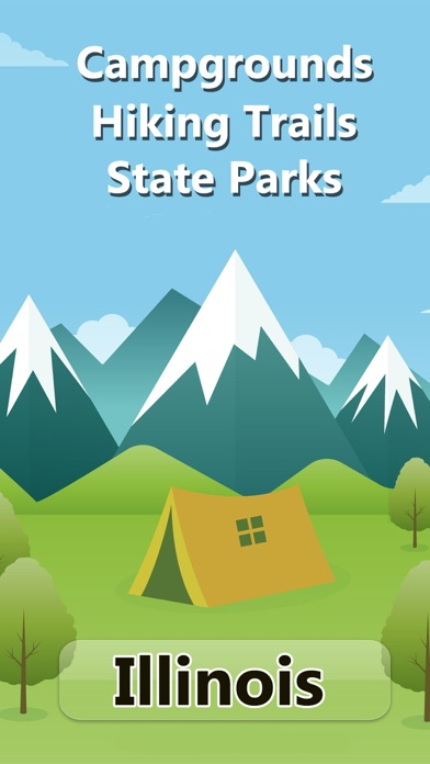 Illinois Camping & State Parks screenshot one