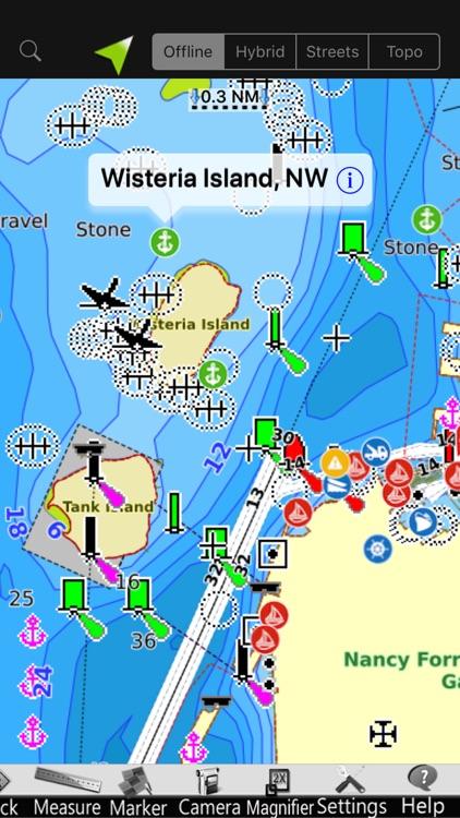 Georgia Gps Nautical Charts Screenshot 2