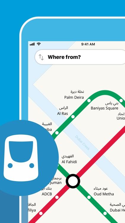 Dubai Metro Interactive Map