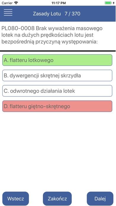 Egzamin ULC PPL(A) screenshot 4