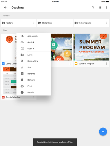 Google Drive – хранилище Скриншоты10