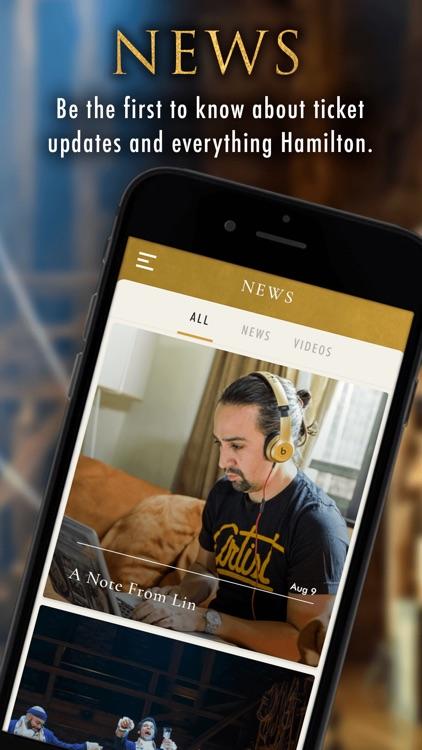 Hamilton - The Official App screenshot-3