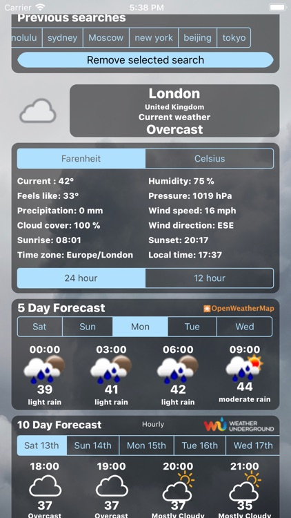 Weather Centre 10 Day Forecast screenshot-3