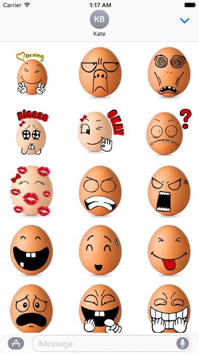 download Love Of Eggs Eggmoji Sticker apps 2