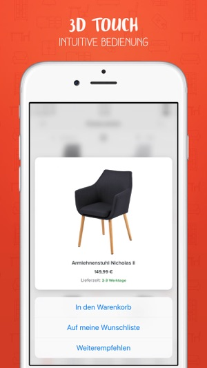 home24 m bel online shop on the app store. Black Bedroom Furniture Sets. Home Design Ideas