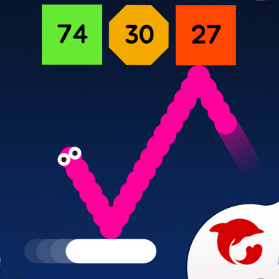 Snake Bricks-Bounce Balls app