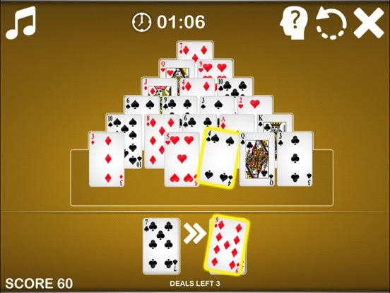 Pyramid Solitaire ® screenshot 9