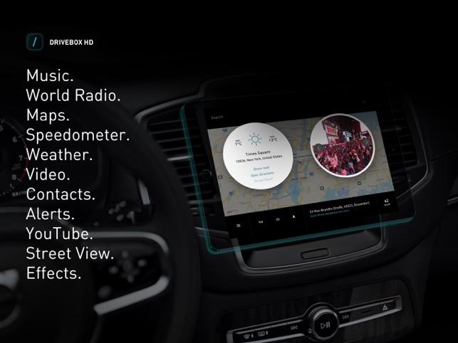 Drive Box - Car Stereo App Screenshot