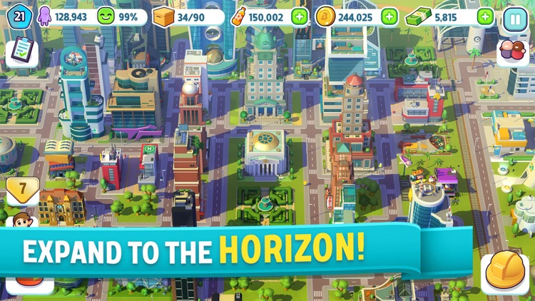 City Mania: Town Building Game screenshot-4