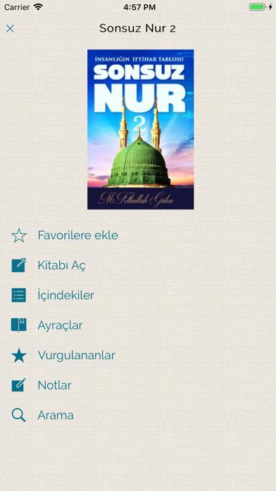 Fethullah Gülen Kitaplığı screenshot three