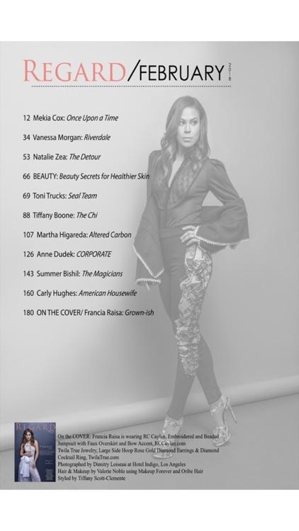 Regard Magazine - celebrity fashion and lifestyle digital magazine