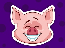 Cute Pig Sticker Pack!