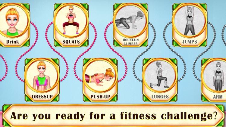 Sally's Fitness Workout screenshot-3