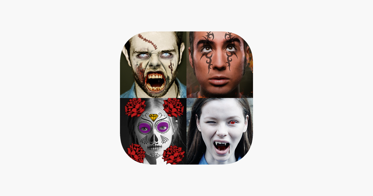 Morph Booth-Halloween Sticker en App Store