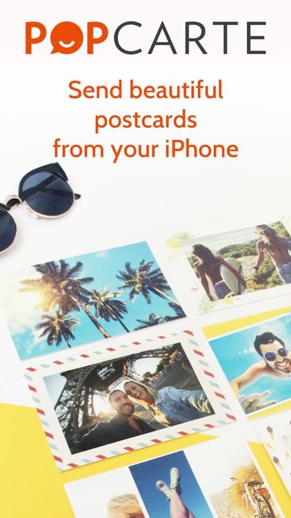 Popcarte -Send real postcards