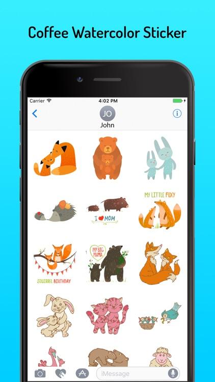 Animal Stickers Pack AniMojis