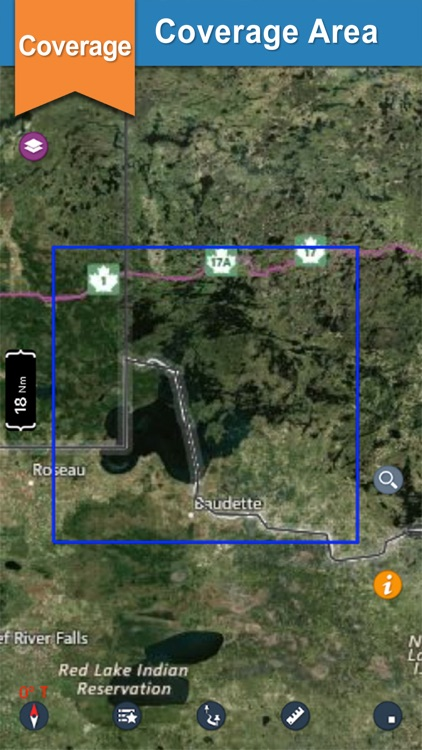 Lake Of the Woods gps offline chart for boaters