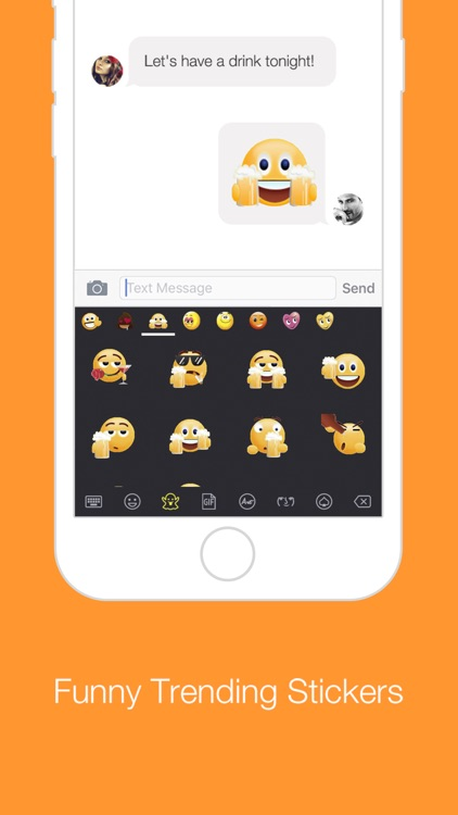 GIFs - Emoji Keyboard with GIF
