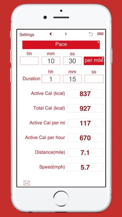 Calories Burned Running screenshot-5