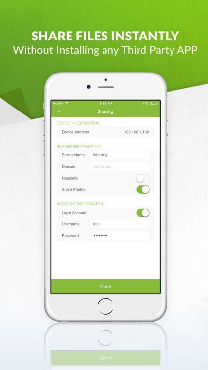 FSharing - File Manager & Share, Transfer File App
